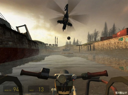 Half life helicopter