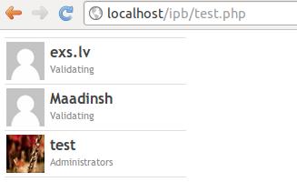 IPB jaunāko lietotāju skripts