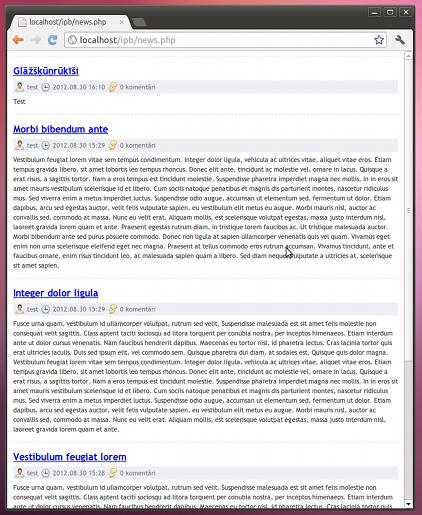IPB news script PHP