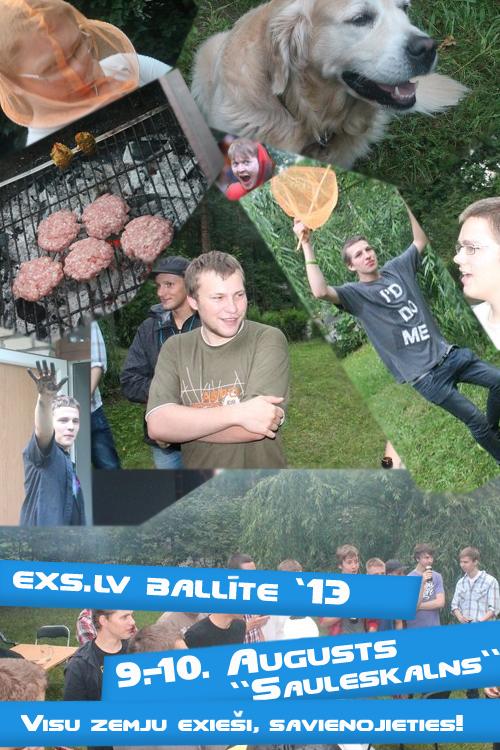 Exs ballīte 2013